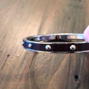 Coach Jewelry - Coach Silver & Purple Bangle